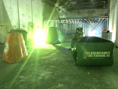 Outdoor lasergamen op een eigen locatie